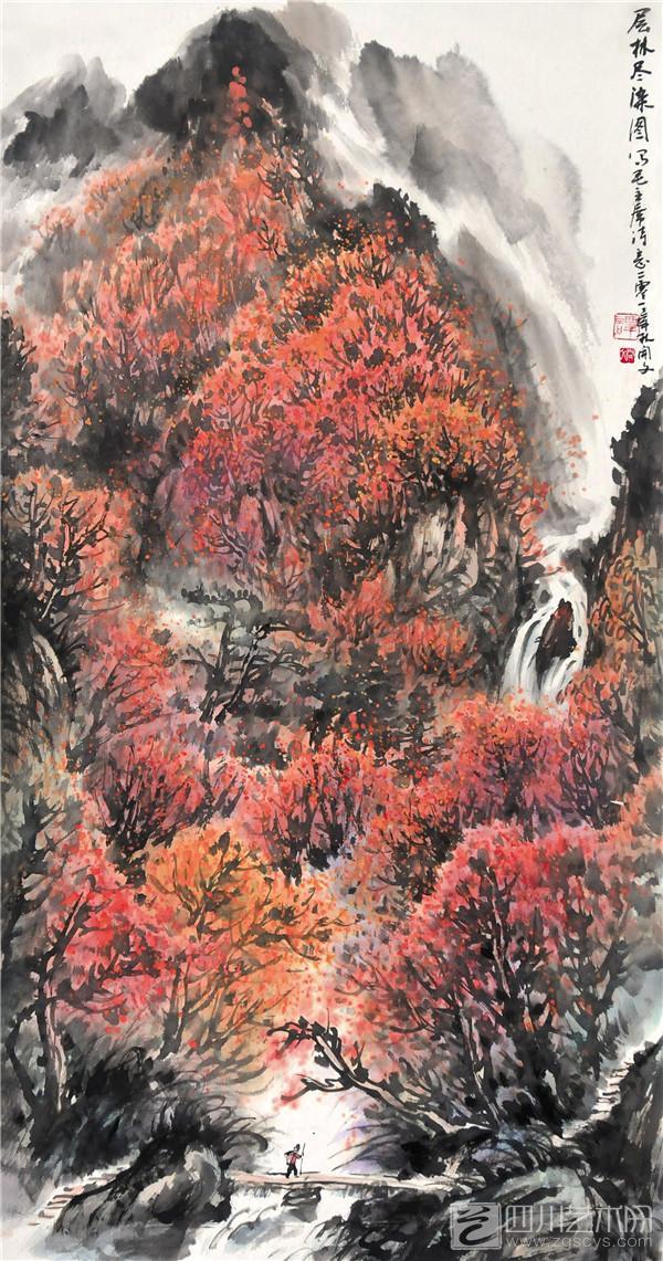 谭先生青年时期师从著名画家陈海萍学习国画,于后又拜黄润华