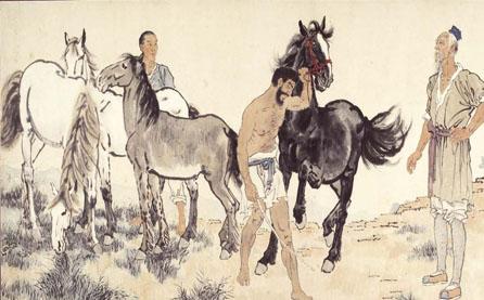 二十世纪中国文化名人——徐悲鸿