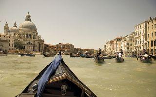 在威尼斯 看看游客