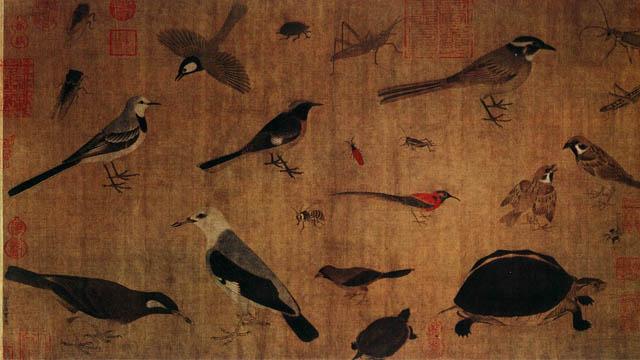 中国绘画史上的四川画派