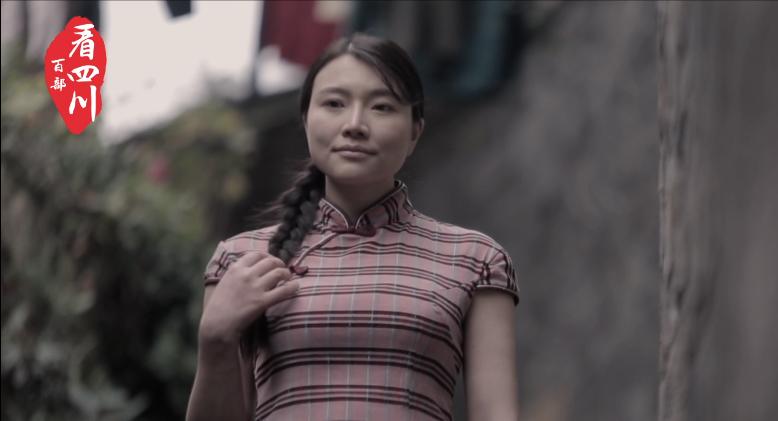 """在西坝古镇邂逅""""豆腐西施"""""""