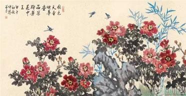 邵仲节绘画作品