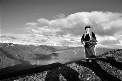 群山之中的观景平台 — —达瓦