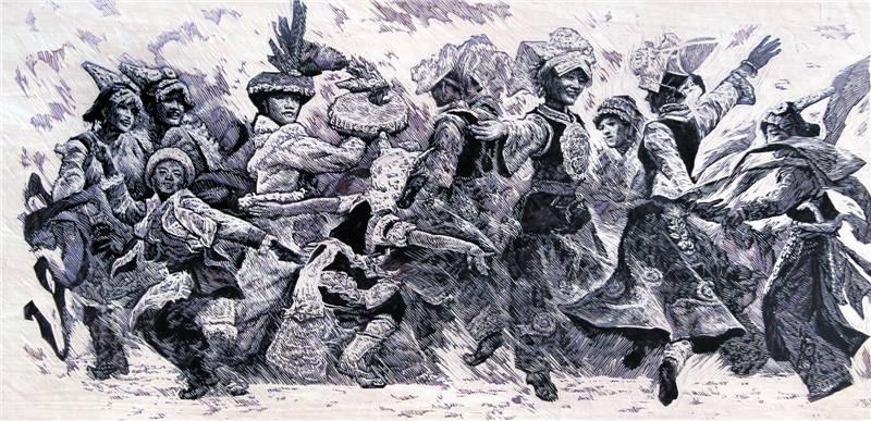 武海成《羌之舞》