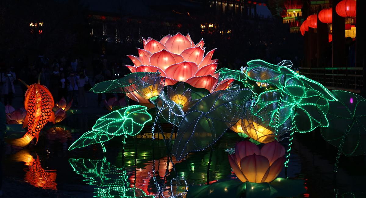 2018最燃的史诗级灯会,全国十二城点亮最中国的年!