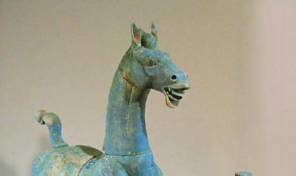 """最大东汉铜马""""汗血宝马""""就是它"""