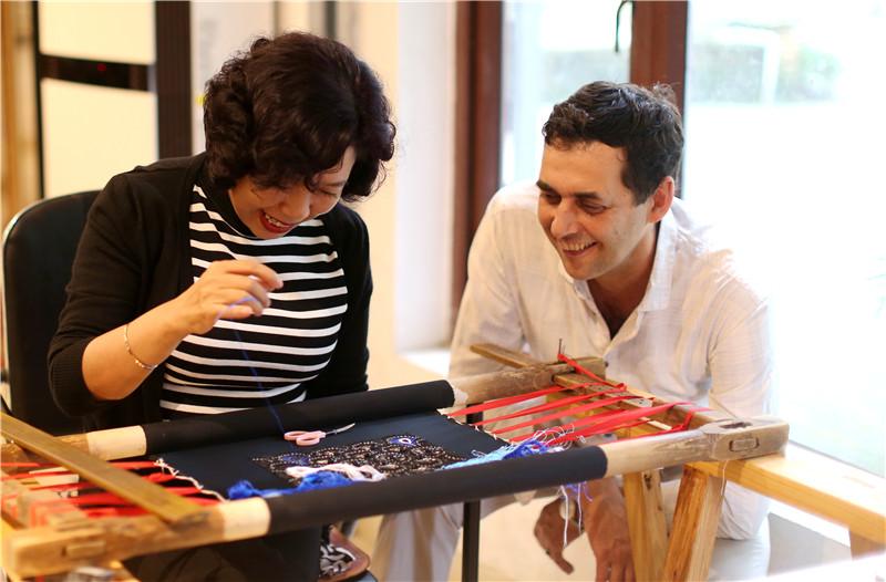 非遗跨国界 中法传统手工艺合作项目启动
