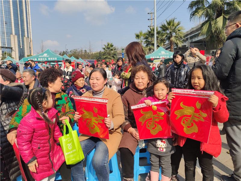 锦江区送文化下乡文化惠民志愿服务活动举行
