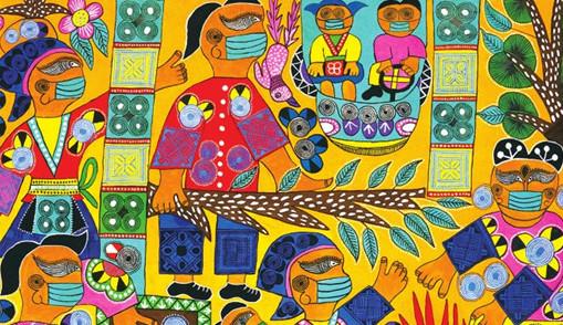 抗疫主题的苗族民间绘画与当代美术创作