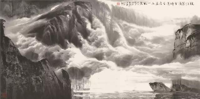 峡江奔涌千峰秀 不及巫山一段云