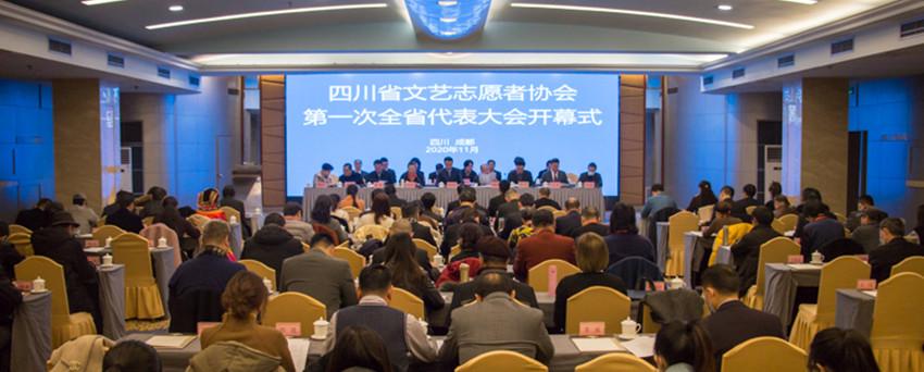 四川省文艺志愿者协会第一次全省代表大会在蓉召开