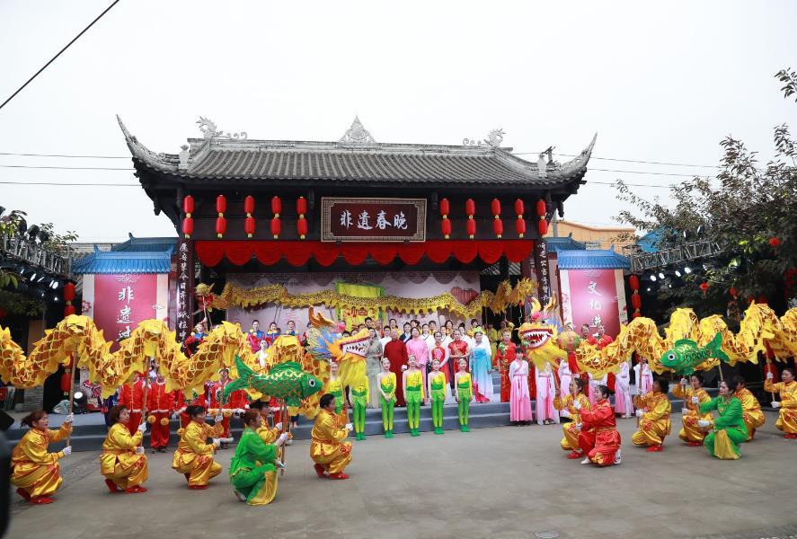 """2021首届成都市""""非遗在社区""""春节联欢晚会举办"""