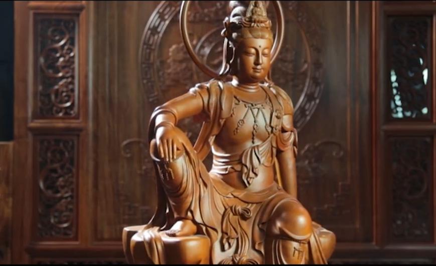 视频 民间工艺:灌县木雕