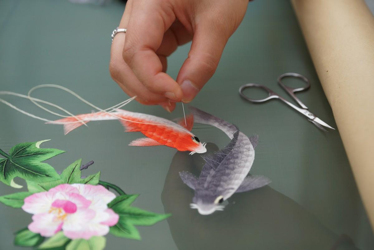 视频 |  蜀绣技艺之四
